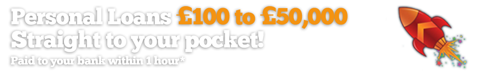 Personal Loans - £100 to £1,500 - Straight to Your Pocket?