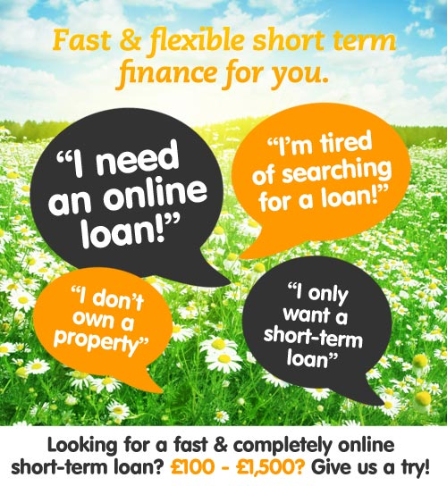 Fast & Flexible short term finance for you.