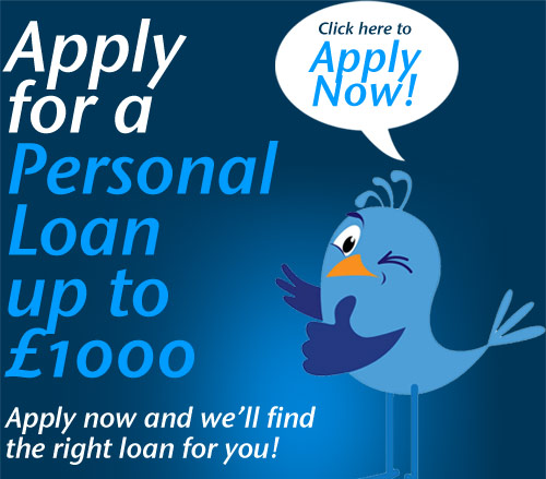 Apply for a Personal Loan up to £1000