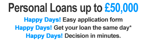 Personal Loans up to £50,000 - Apply Now!