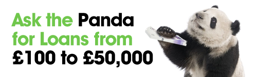 Ask the Panda for Loans from £100 to £50,000