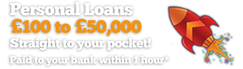 Personal Loans - £100 to £1,500