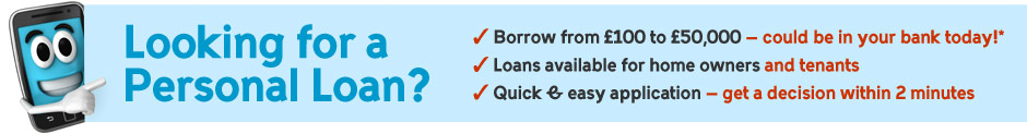Looking for a Personal Loan? - Complete the form below to Apply!