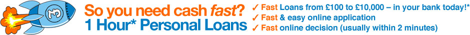 SonicBoomLoans - 1 Hour* Personal Loans - Apply Now!