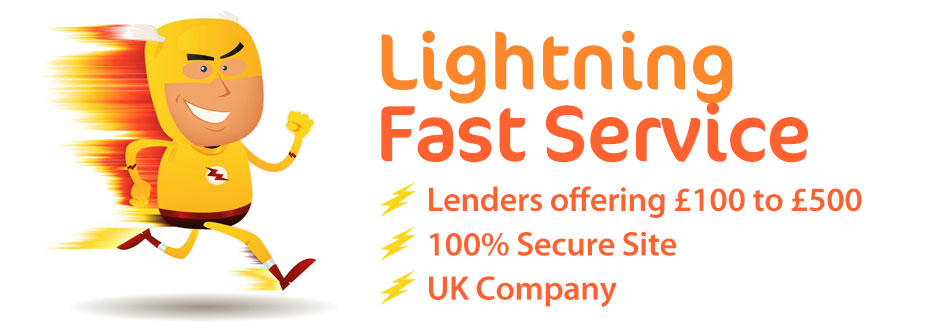 Lightning Dosh - Online Personal Loan Search - £100 to £500